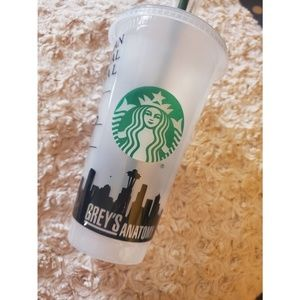 ***Greys Anatomy Starbucks Tumbler